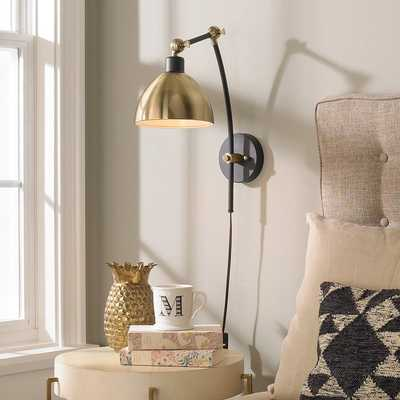 Young House Love Dapper Adjustable Arm Wall Sconce - Shades of Light