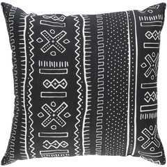 """Ethiopia Pillow Shell with Polyester Insert- 18""""x18"""" - Neva Home"""