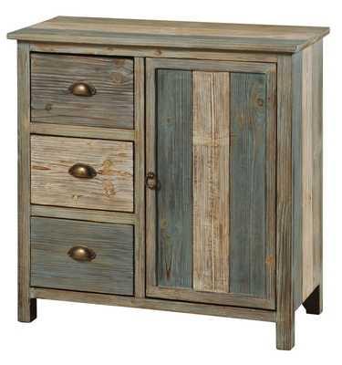 Selma 3 Drawer 1 Door Cabinet - Wayfair