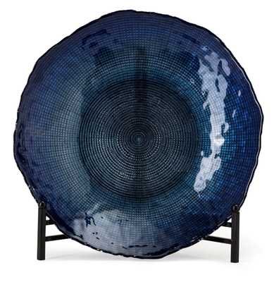 Indigo Glass Charger - Mercer Collection
