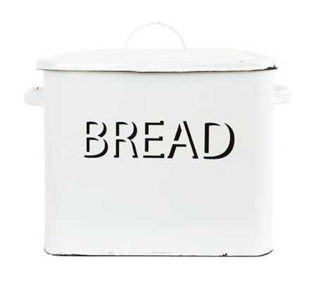 METAL BREAD BOX - McGee & Co.
