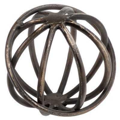 Bronze Giro Sphere Figurine - Wayfair