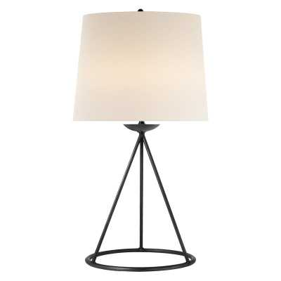FONTAINE TABLE LAMP - AGED IRON - McGee & Co.