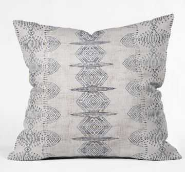 FRENCH LINEN ERIS Throw Pillow By Holli Zollinger - Wander Print Co.