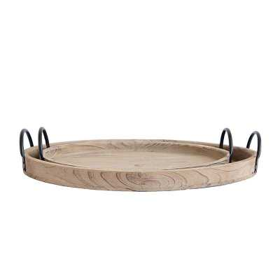 OVAL WOOD TRAYS (SET OF 2) - McGee & Co.