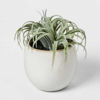 Faux Succulent in White Pot - Threshold™ - Target
