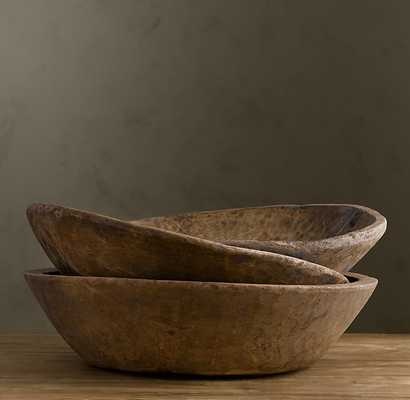 Vintage Naan Bowl Large - RH