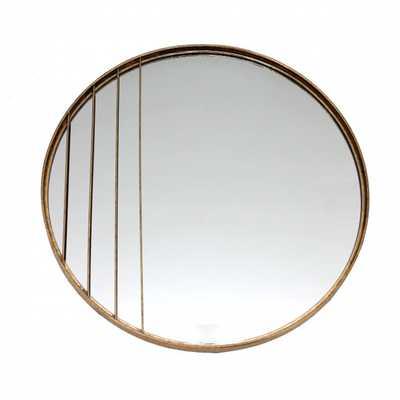 Corte Round Mirror Gold - Zuri Studios