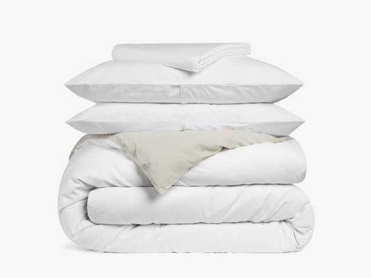 Brushed Cotton Duvet Cover Set - Queen - Parachute