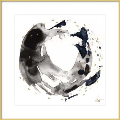 """8/7. 7.  BY BETH WINTERBURN with frosted gold metal frame- 24""""x24"""" - with Matte - Artfully Walls"""