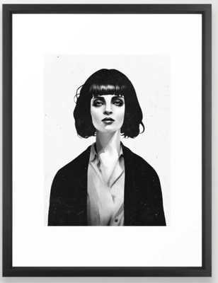 Mrs Mia Wallace Framed Art Print - Society6