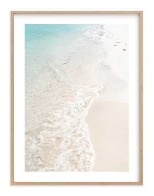 turquoise tide 40 x 54 - Minted