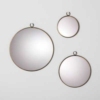 Round Mirror Set of 3 - Hearth & Hand™ with Magnolia - Target