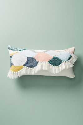 Hello Hydrangea Knit Pillow - Anthropologie
