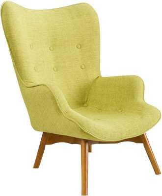 Canyon Vista Mid-Century Lounge Chair - Wayfair