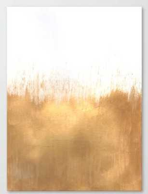 Brushed Gold Canvas Print - Society6