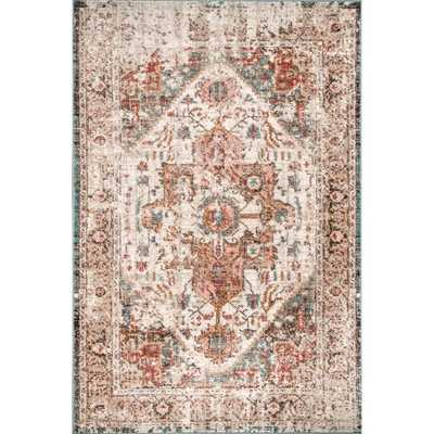Copper Grove Srebrenik Ornamental Faded Border Area Rug - Overstock