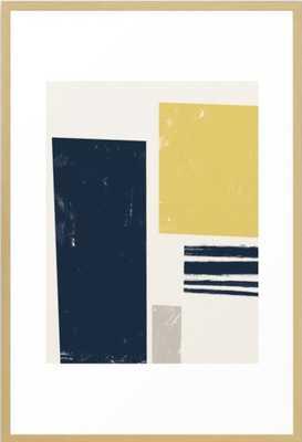 Scandi Framed Art Print - Society6