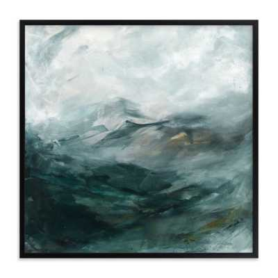 """ice canyon  LIMITED EDITION ART 30"""" x 30"""" - Minted"""