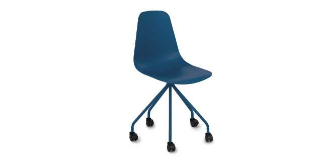 Svelti Navy Blue Office Chair - Article