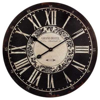 Hotel Wall Clock - Mercer Collection