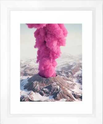 Pink Eruption Art Print - Mini by Filiphodas - Society6