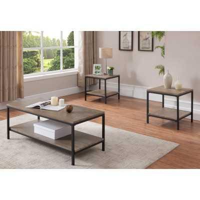 Hallett 3 Piece Coffee Table Set - Wayfair