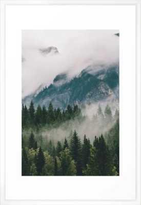 Vancouver Fog Framed Art Print - Society6