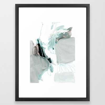 abstract painting XX Framed Art Print abstract painting XX - Society6
