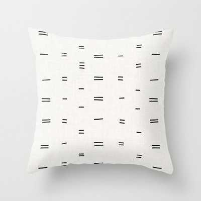 HAMMAH MUDCLOTH Throw Pillow - Society6