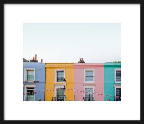 Notting Hill Black Contemporary Frame - Artfully Walls