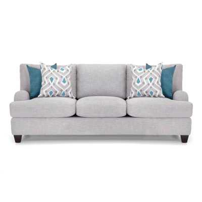 "Rosalie 93"" Recessed Arm Sofa - Wayfair"