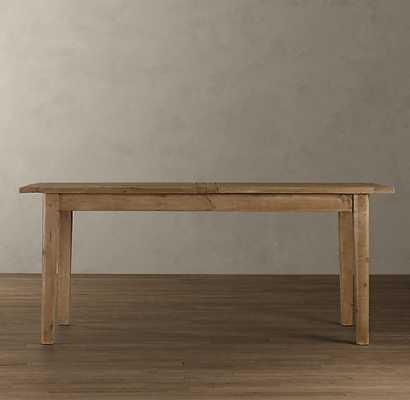 """1900S Boulangerie Rectangular Extension Dining Table, 72"""" - 96"""" - RH"""