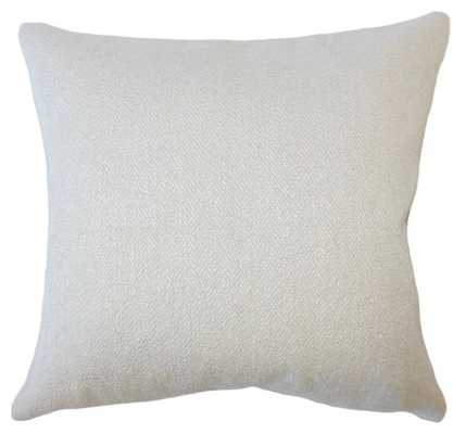 WINSLOW SOLID PILLOW SESAME lumbar 12 x 18 - Linen & Seam