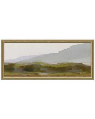 ABSTRACT LANDSCAPE 4 Framed Art - Large - McGee & Co.
