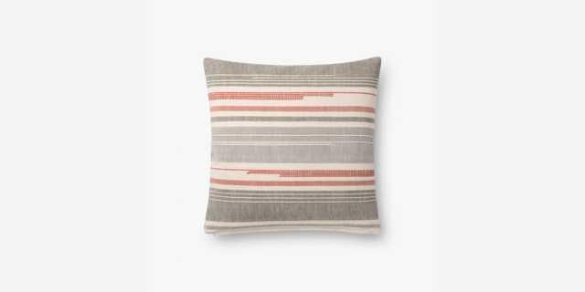 P1111 MH MULTI / GREY Pillow - Loma Threads