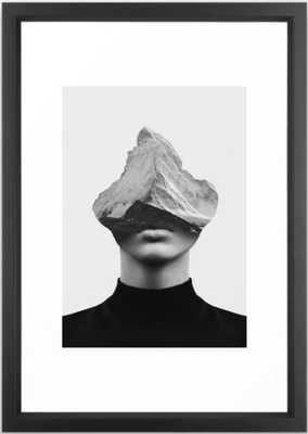 Inner Strength Framed Art Print- Vector Black - Society6