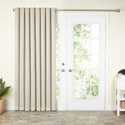 Solid Blackout Grommet Single Curtain Panel - AllModern