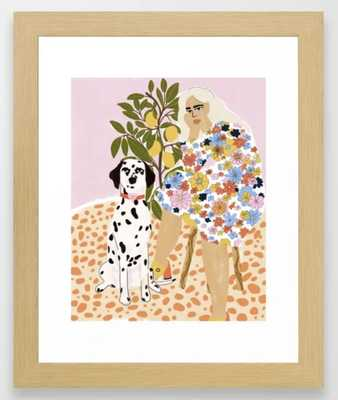 The Chaotic Life Framed Art Print by Alja Horvat - Society6