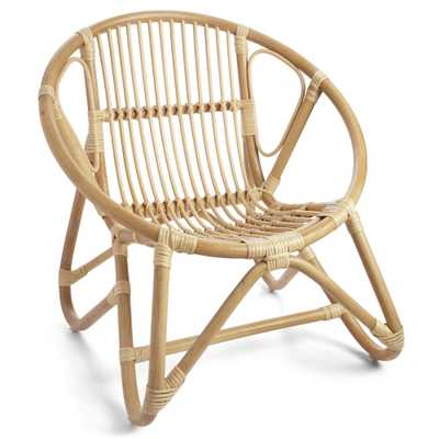 RATTAN RADIAL CHAIR - Wisteria