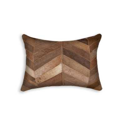 Graham Leather Lumbar Pillow - Wayfair
