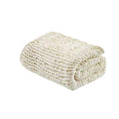 Chunky Double Knit Handmade Throw Blanket - Target