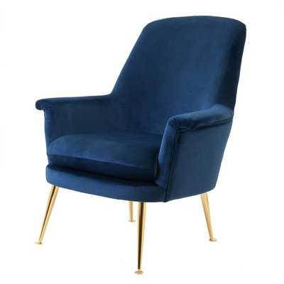 Garren Armchair, Blush - Wayfair