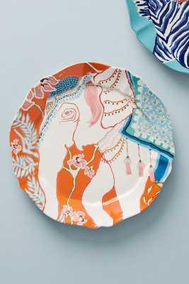 Eastern Animal Dessert Plate - elephant - Anthropologie