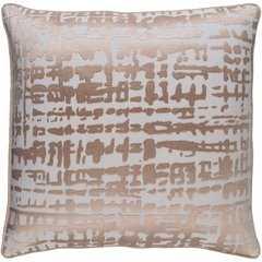 "Hessian HSS-001 - 22"" x 22""  Pillow Shell with Polyester Insert - Neva Home"