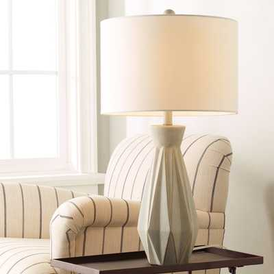 CONTEMPORARY PRISMATIC CONCRETE TABLE LAMP - Shades of Light