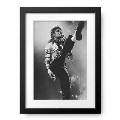 """Pop star Michael Jackson gets his kicks performing his """"Hear - Photos.com by Getty Images"""
