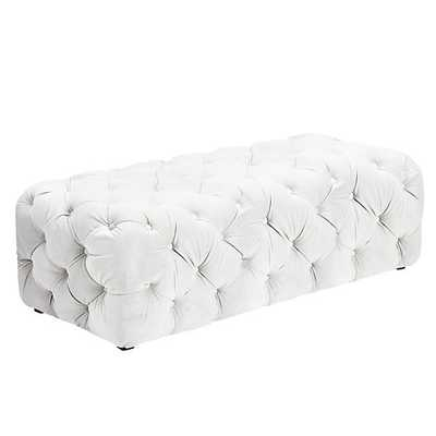 Jules Tufted Bench - Z Gallerie