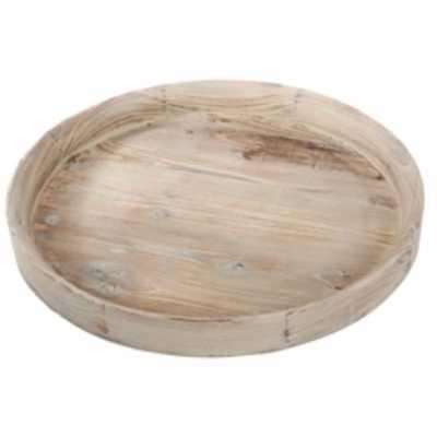 VanNest Amazing Round Wooden Accent Tray - Wayfair