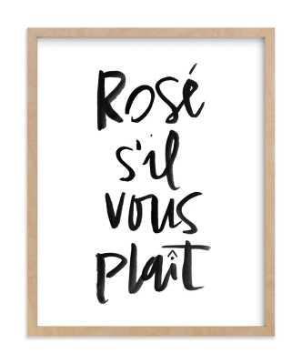 rosé s'il vous plaît - Minted